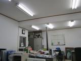 阿波鳴事務室 リフォーム 真っ白な壁