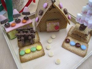 菓子の家 お菓子 菓子 甘い 作る お菓子の家
