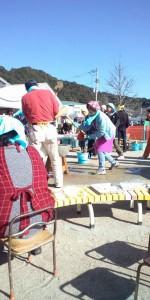 保育所イベント 阿波鳴 アワナル 食品加工 イベント 餅つき大会